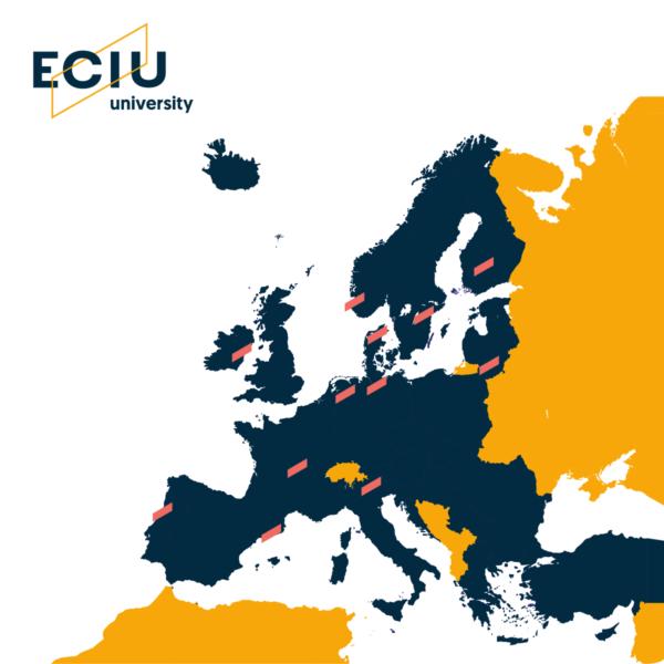 ECIU University map